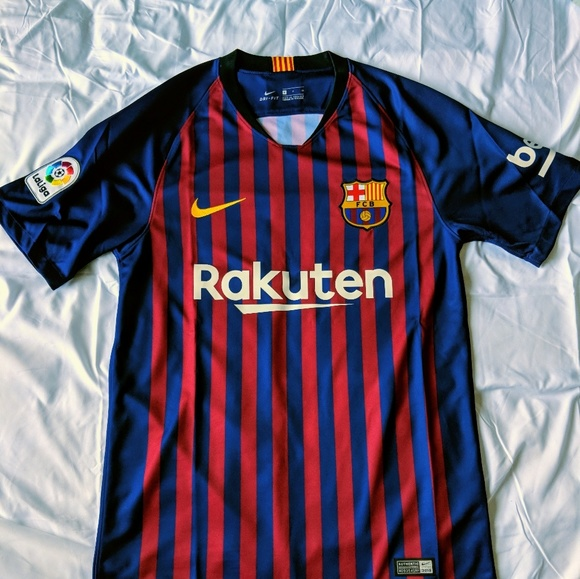 the best attitude 648cb 9efc9 Authentic FC Barcelona Jersey 2018 NWT